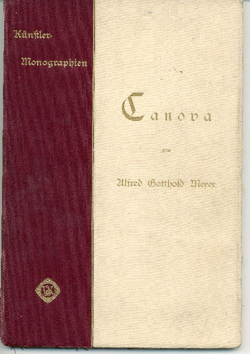 `CANOVA` KNAKFUS. Leipzig, 1898