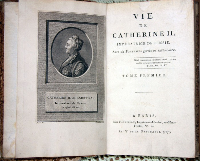 a review of the life of catherine ii Catherine the great was empress of russia from 1762 until she died in 1796 she was born in 1729 in poland and in 1744 was taken to russia to marry the young grand duke peter, heir to the throne and not of a sane mind.