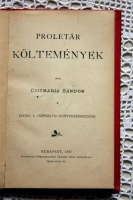 `Proletar Koltemenyek` Csizmadia Sandor. Budapest, 1897