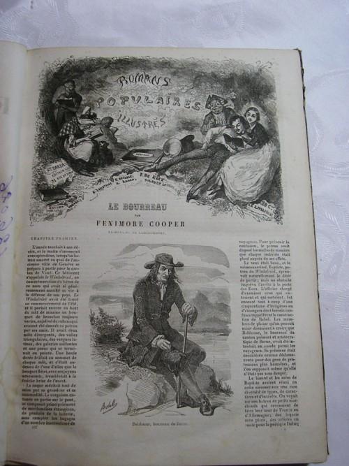 `Oeuvres Completes` Fenimore Cooper. Paris, 1849, Gustave Barra, Libraire-editeur