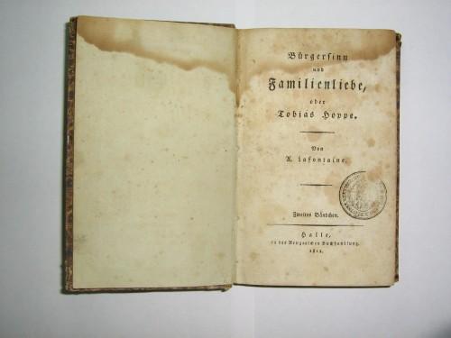 `Общественное мнение или семейная любовь` Тобиас Гопп. 1812 год