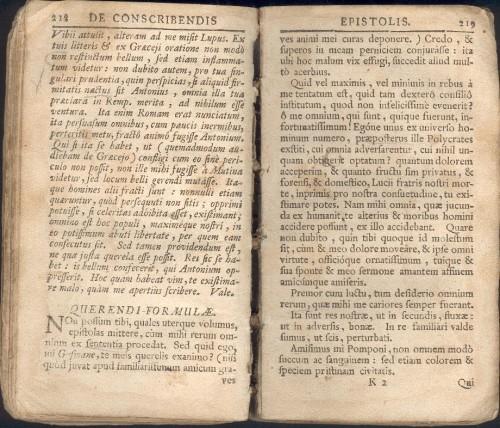 `De conscribendis epistolis opus` Эразм Роттердамский. 1572