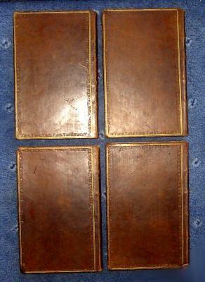`The works of Robert Burns in 4 vols` Robert Burns. 1821, Единбург