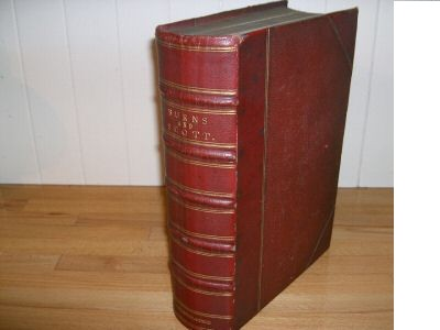 ����������������.��: The complete works of  ROBERT BURNS, including his correspondence,  and the poetical works of SIR WALTER SCOTT. ROBERT BURNS and SIR WALTER SCOTT.