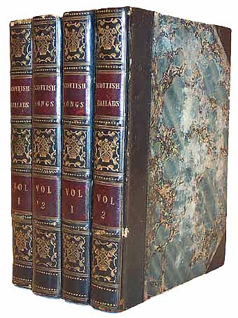����������������.��: THE BOOKS OF SCOTTISH BALLADS AND SONGS (� 4 ������). WHITELAW, Alex.