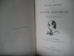 `The Life ana Adventures of Oliver Goldsmith in 4 books` John Forester. 1848, Лондон