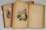 `Les Fleurs animees` GRANDVILLE. 2т. - Paris, Gabriel de Gonet, 1847