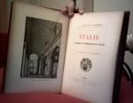 `ITALIE. Souvenirs et impressions de voyage.` P. Barbier. 1893, Paris