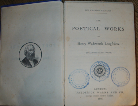 Антикварныекниги.рф: The poetical works of Henry Wadsworth Longfellow. Henry Wadsworth Longfellow.