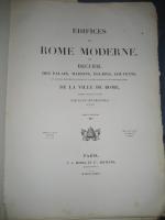 `Здания Римского Модерна` Par Paul Letarouilly. Париж, 1874 г.