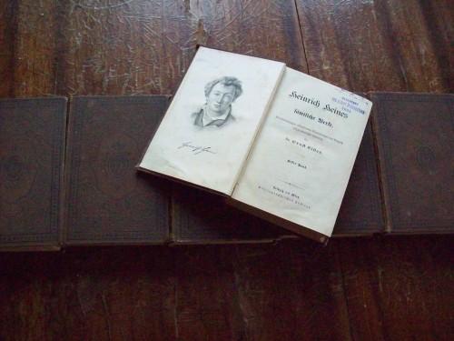 `Heinrich Heines` Генрих Гейне. 1891
