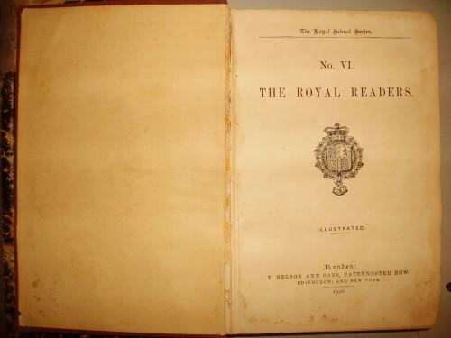 `Королевские читатели  № VI` Т. Нелсон и сыновья. 1906 г.