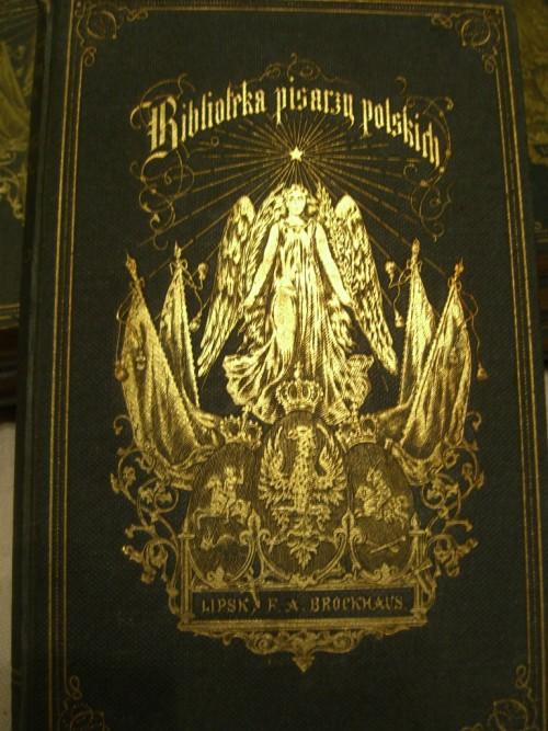 `Библиотека писателей польских` Адам Мицкевич. 1877г.       Lipsk