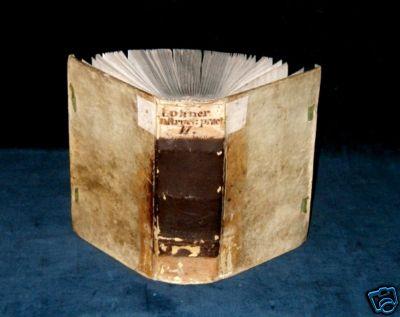 `LOHNER On 5fold Theology & Trident. Council VELLUM` Lohner, Tobias. SJ. Dilingae, Bencard, 1689.