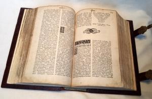 `Острожская Библия` Иван Федоров. Острог, 12 августа 1580-1581 года