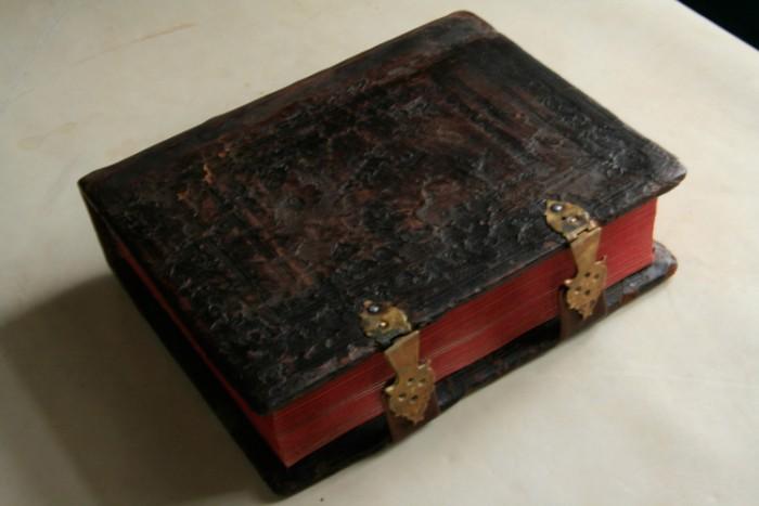 `СТРАСТИ ХРИСТОВЫ И СБОРНИК СЛОВ.` . Рукопись начала 19 века