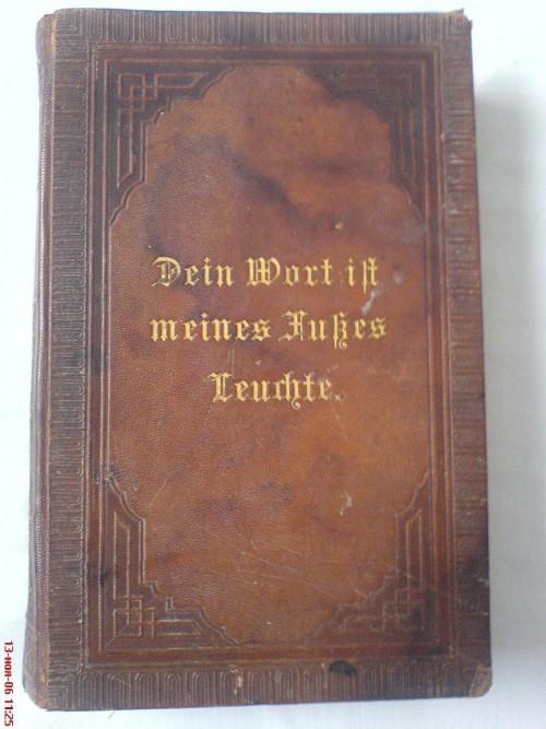 `Dein Wort ilt meines Hubes Leurhte` . 1898 Берлин
