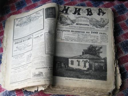 `Иллюстрированный журнал литературы, политики и современной жизни Нива` . 1880 год. Санкт-Петербург