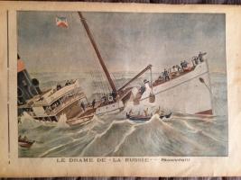 `Le Petit Journal иллюстрированное приложение` . Париж