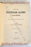 Антикварная книга: Курс пластической анатомии человека. Составил профессор М.Т.Тихонов. Спб., Т-во Р.Голике и А.Вильборг, 1906 г.
