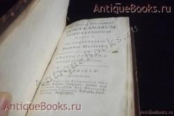 `Сочинения Цицерона` joannis davisii. 1723год-Лондон.